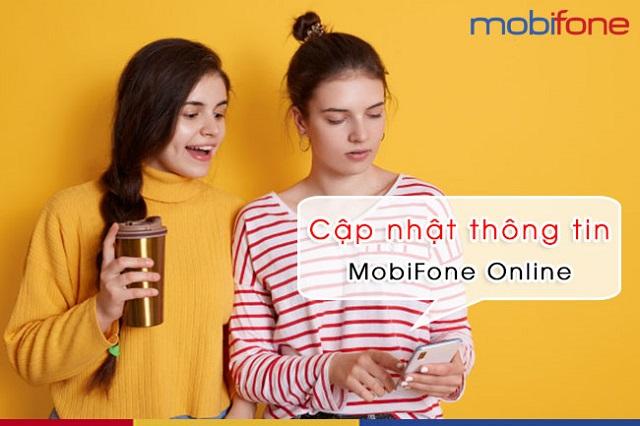 Cùng tìm hiểu ngay cách cập nhật thông tin chính chủ MobiFone Online