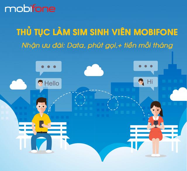 Đăng ký làm sim sinh viên Mobifone