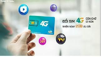 Đăng Ký Sim 4G Viettel - Nhận Ưu Đãi Khủng