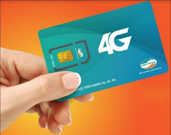Sim 4G có tốc độ đường truyền nhanh gấp 20 lần sim 3G