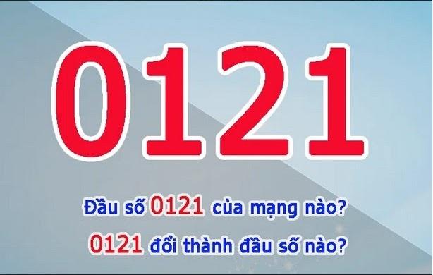 Đầu thuê bao 0121 của nhà mạng Mobifone
