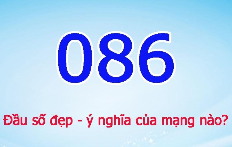Đầu thuê bao 0806 thuộc mạng Viettel