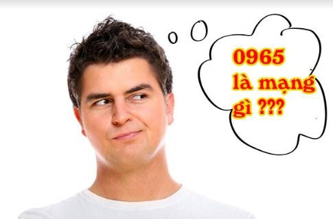 đầu số 0965 là mạng gì?