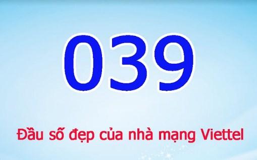 đầu số 0395 của mạng nào?