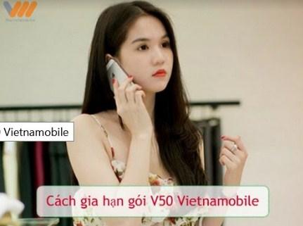 Lưu ý khi sử dụng gói v50 của Vietnamobile