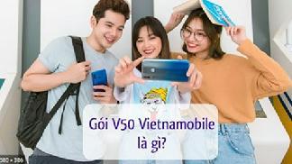 Ưu đãi khủng từ gói V50 Vietnamobile - Free gọi nội mạng