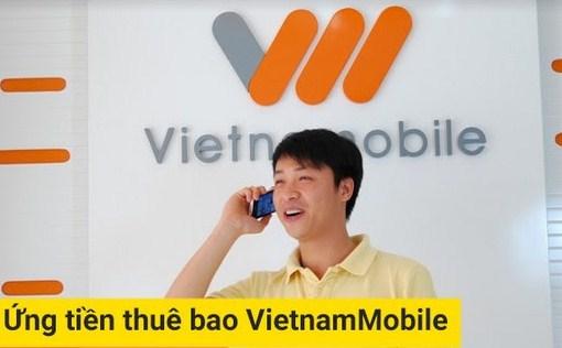 ứng tiền Vietnamobile